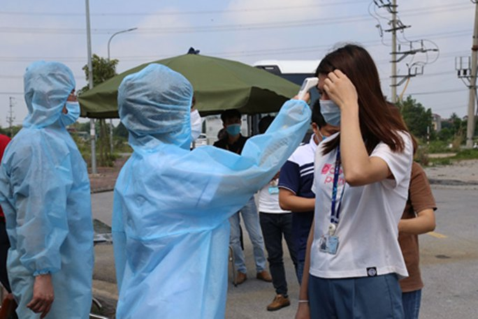 Đã có 90 ca dương tính SARS-CoV-2 ở Thuận Thành, ổ dịch Shin Young rất nguy hiểm - Ảnh 1.