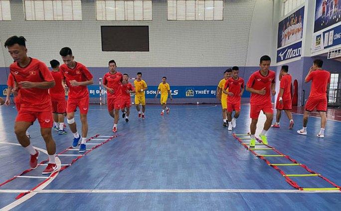 Việt Nam chuẩn bị cho mục tiêu dự Futsal World Cup 2021 - Ảnh 1.