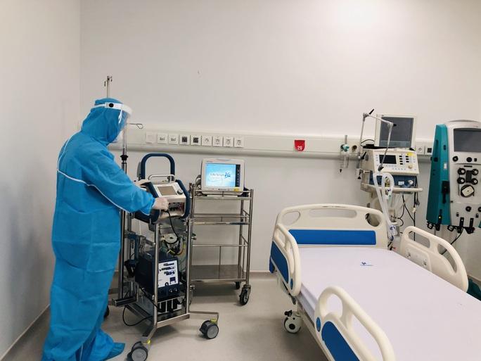 Cận cảnh bên trong khu điều trị gần 400 bệnh nhân Covid-19 và trường hợp F1 - Ảnh 3.