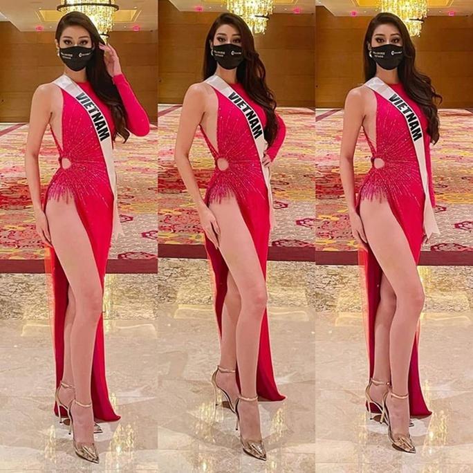 Khánh Vân được dự đoán vào tốp 12 Hoa hậu Hoàn vũ Thế giới - Ảnh 2.