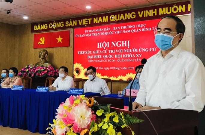 Ông Nguyễn Thiện Nhân mong muốn tiếp tục phục vụ cho TP HCM, cho đất nước - Ảnh 1.