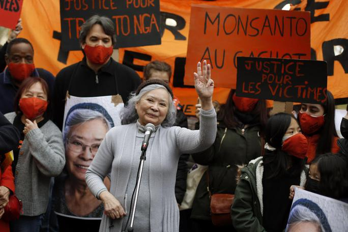 Vụ án chất độc da cam: Tòa án Pháp bác đơn kiện, bà Trần Tố Nga sẽ kháng cáo - Ảnh 1.