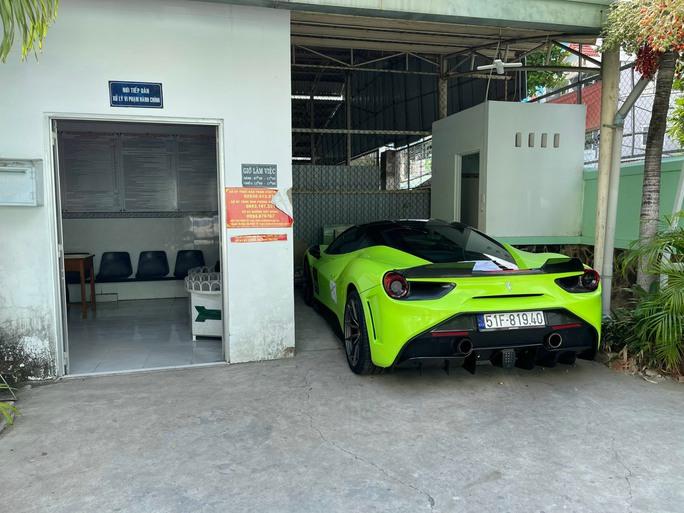 Thông tin mới nhất vụ nam thanh niên lái siêu xe Ferrari 488 GTB giá hơn 10 tỉ đồng bị tạm giữ - Ảnh 3.