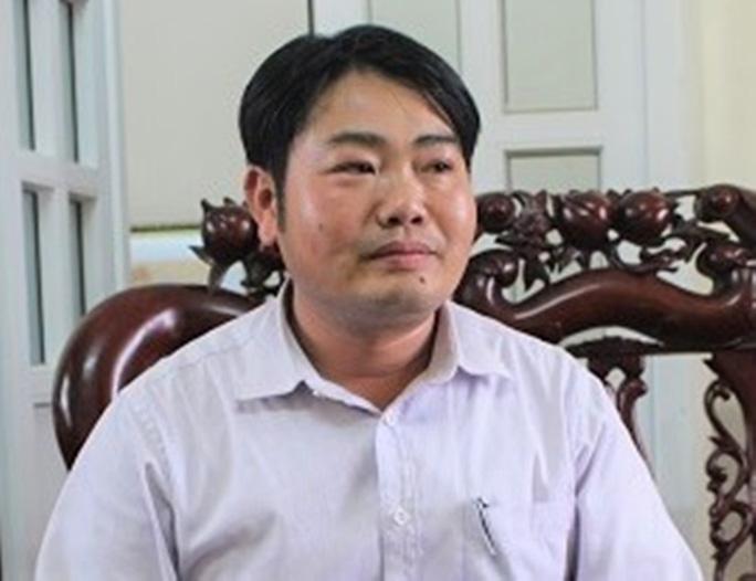 Một cán bộ huyện ở Thanh Hóa bị bắt giam - Ảnh 1.