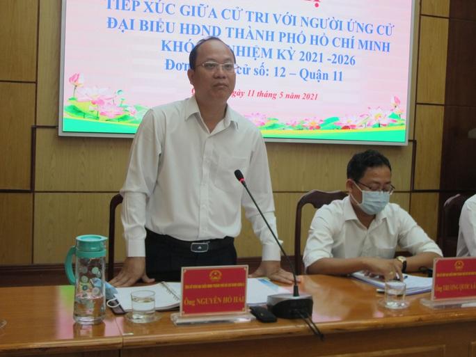 Cam kết mạnh mẽ của ông Nguyễn Hồ Hải trước cử tri quận 11, TP HCM - Ảnh 1.