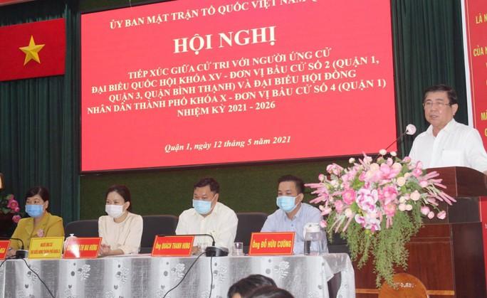 Chủ tịch Nguyễn Thành Phong cam kết giải quyết nhiều vấn đề bức xúc trong dư luận - Ảnh 1.
