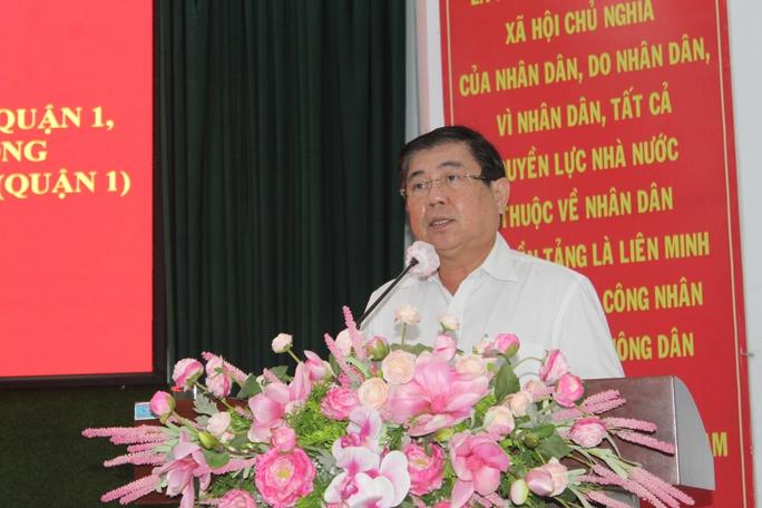 Chủ tịch Nguyễn Thành Phong muốn xây dựng những tập đoàn kinh tế mạnh tại TP HCM - Ảnh 1.