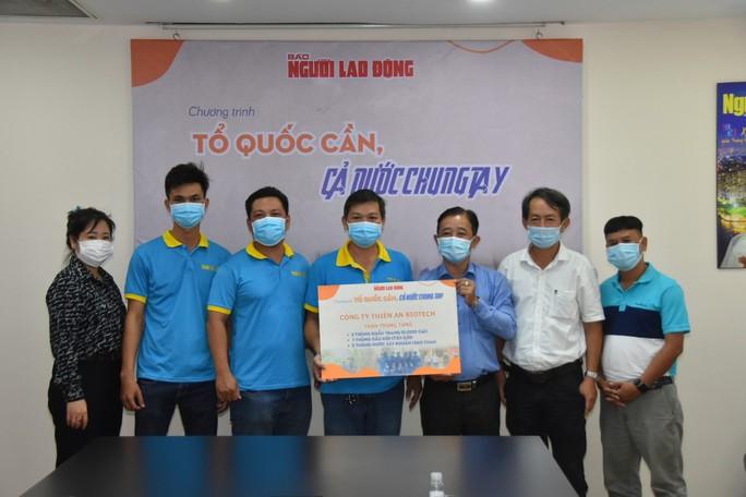 Công ty Thiên An Biotech đóng góp Chương trình Tổ quốc cần, cả nước chung tay - Ảnh 2.