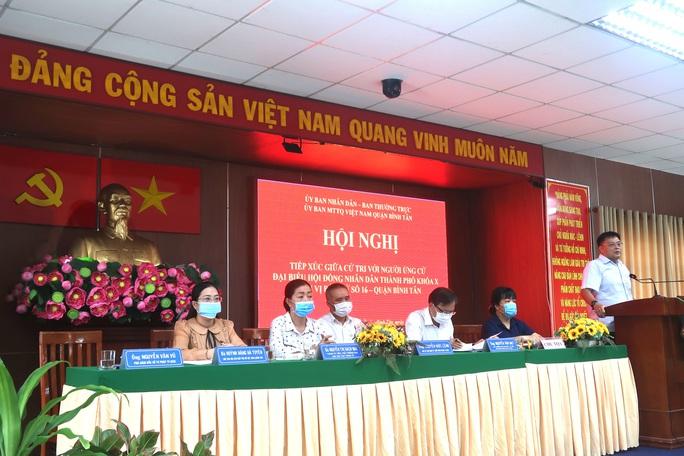 Cử tri quận Bình Tân mong muốn có giải pháp xử lý triệt để tín dụng đen, ngập nước - Ảnh 2.