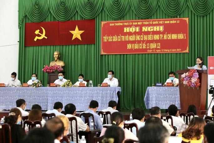 Ứng cử viên Tô Đình Tuân mong muốn đóng góp thật nhiều cho quận 12 và TP HCM - Ảnh 1.