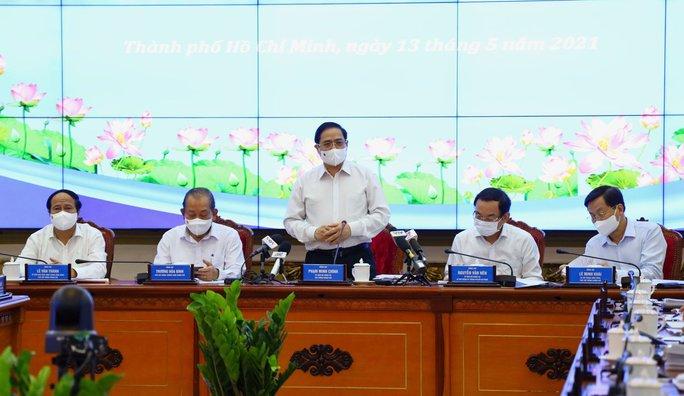 Thủ tướng Phạm Minh Chính làm việc với TP HCM - Ảnh 2.