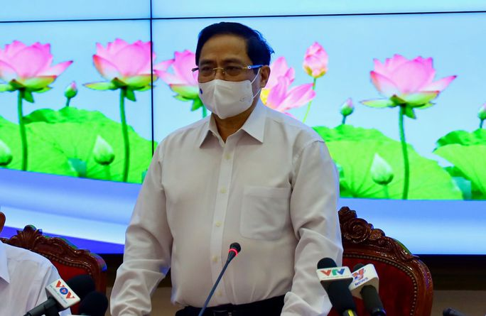 Thủ tướng Phạm Minh Chính làm việc với TP HCM - Ảnh 1.