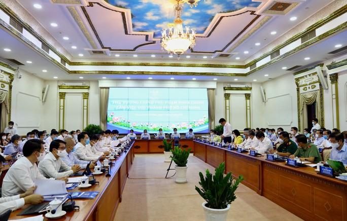 Thủ tướng Phạm Minh Chính làm việc với TP HCM - Ảnh 4.