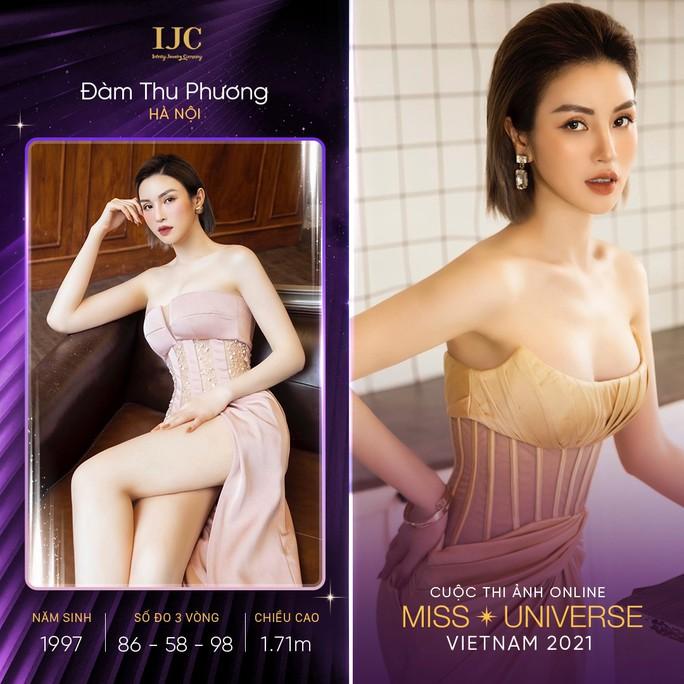 Mãn nhãn với các nhan sắc tại cuộc thi ảnh online Hoa hậu Hoàn vũ Việt Nam 2021 - Ảnh 5.