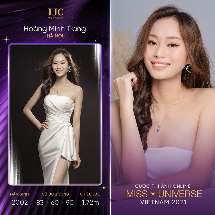 Mãn nhãn với các nhan sắc tại cuộc thi ảnh online Hoa hậu Hoàn vũ Việt Nam 2021 - Ảnh 1.
