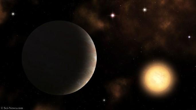 Hành tinh cổ đại kỳ quái: đất toàn sa mạc, bầu trời ngập nước - Ảnh 1.