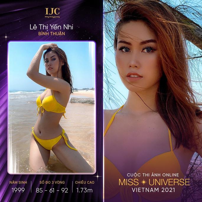 Mãn nhãn với các nhan sắc tại cuộc thi ảnh online Hoa hậu Hoàn vũ Việt Nam 2021 - Ảnh 2.