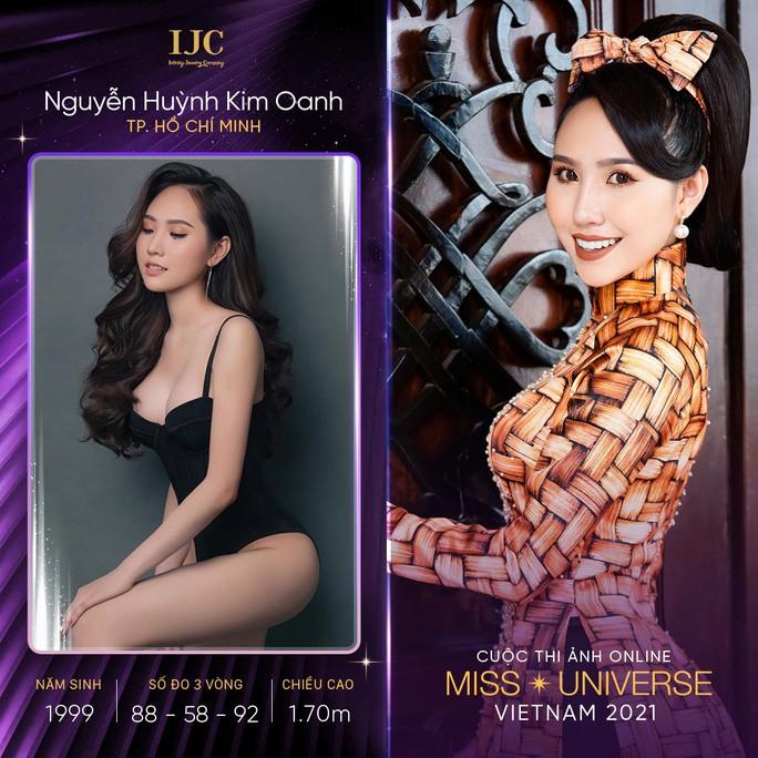 Mãn nhãn với các nhan sắc tại cuộc thi ảnh online Hoa hậu Hoàn vũ Việt Nam 2021 - Ảnh 6.