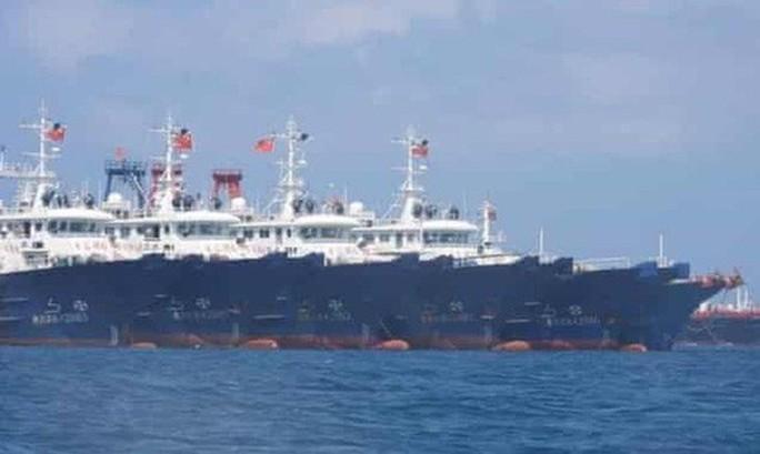 Người phát ngôn nói về việc Trung Quốc đưa thêm tàu đến đá Ba Đầu - Ảnh 1.