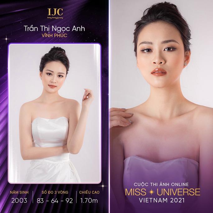 Mãn nhãn với các nhan sắc tại cuộc thi ảnh online Hoa hậu Hoàn vũ Việt Nam 2021 - Ảnh 7.