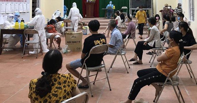 Thêm hàng chục ca dương tính SARS-CoV-2 mới ở Bắc Ninh, tâm dịch Thuận Thành đã có 144 ca - Ảnh 1.