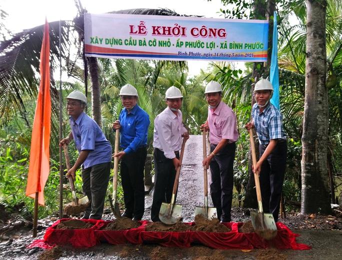 CEP xây dựng cầu dân sinh đầu tiên ở Vĩnh Long - Ảnh 1.