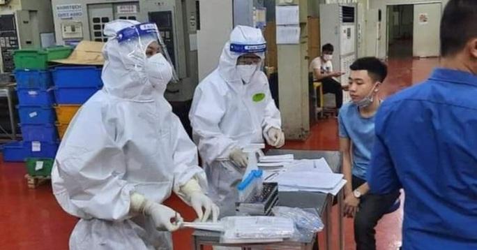 NÓNG: Thêm 20 ca dương tính SARS-CoV-2 mới, xuất hiện ổ dịch mới tại Công ty Hosiden - Ảnh 1.