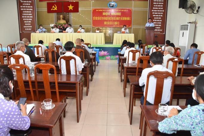 Cử tri quận 12 đặt hàng loạt câu hỏi đến 5 ứng cử viên đại biểu HĐND TP HCM - Ảnh 1.