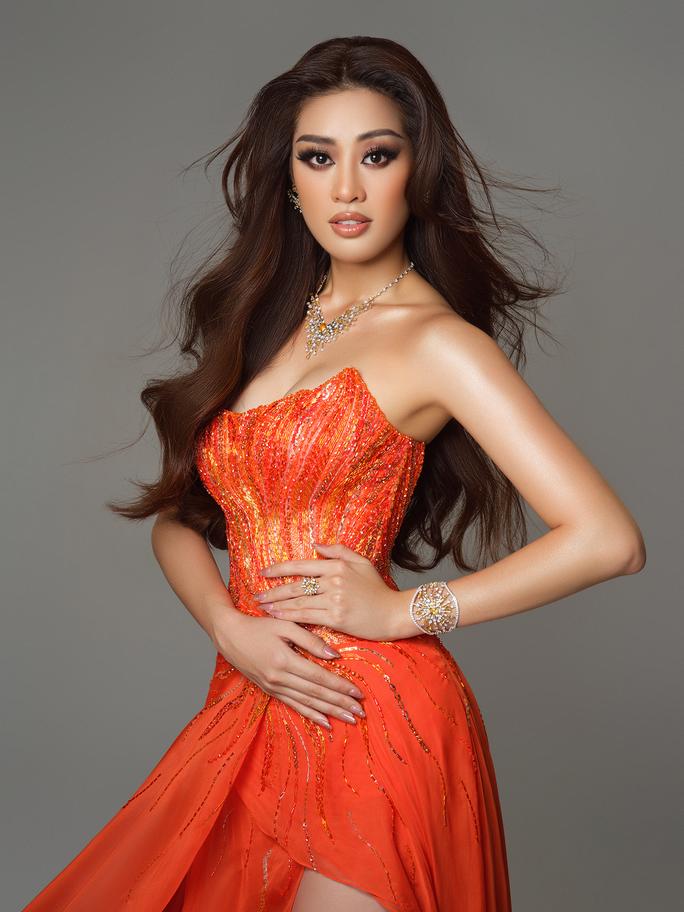 Ý nghĩa chiếc váy cam của hoa hậu Khánh Vân tại bán kết Hoa hậu Hoàn vũ 2020 - Ảnh 2.