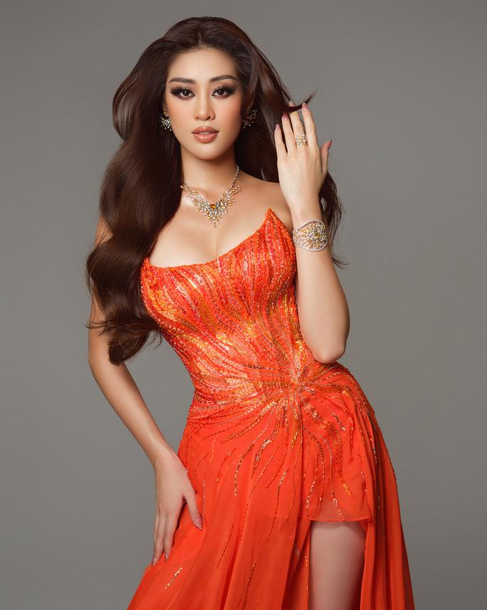Ý nghĩa chiếc váy cam của hoa hậu Khánh Vân tại bán kết Hoa hậu Hoàn vũ 2020 - Ảnh 3.