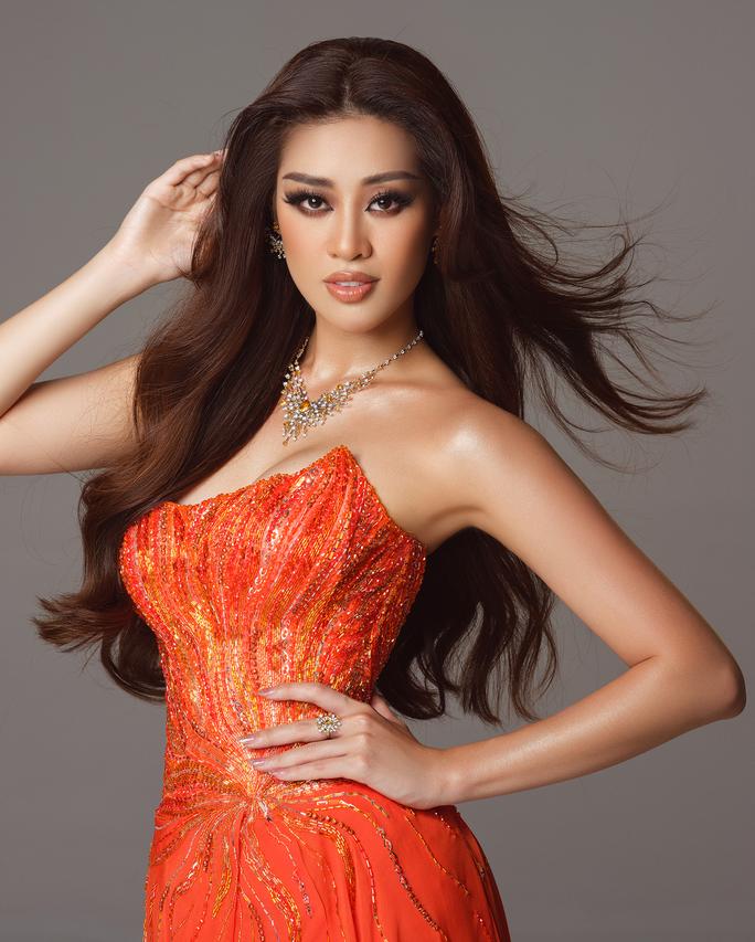 Ý nghĩa chiếc váy cam của hoa hậu Khánh Vân tại bán kết Hoa hậu Hoàn vũ 2020 - Ảnh 7.