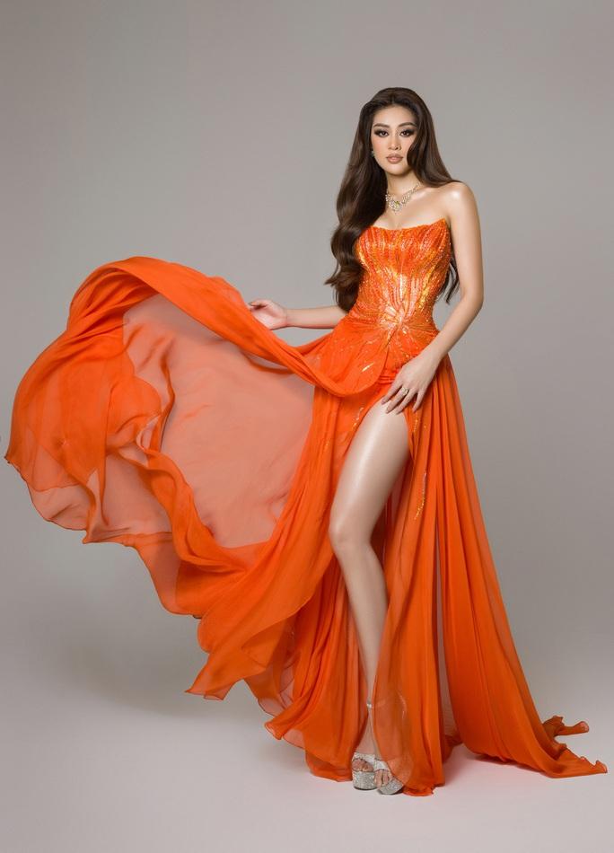 Ý nghĩa chiếc váy cam của hoa hậu Khánh Vân tại bán kết Hoa hậu Hoàn vũ 2020 - Ảnh 8.