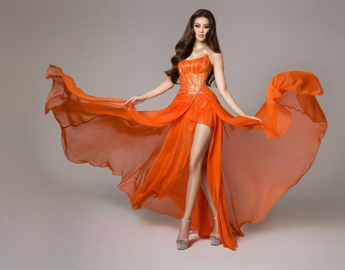 Ý nghĩa chiếc váy cam của hoa hậu Khánh Vân tại bán kết Hoa hậu Hoàn vũ 2020 - Ảnh 9.