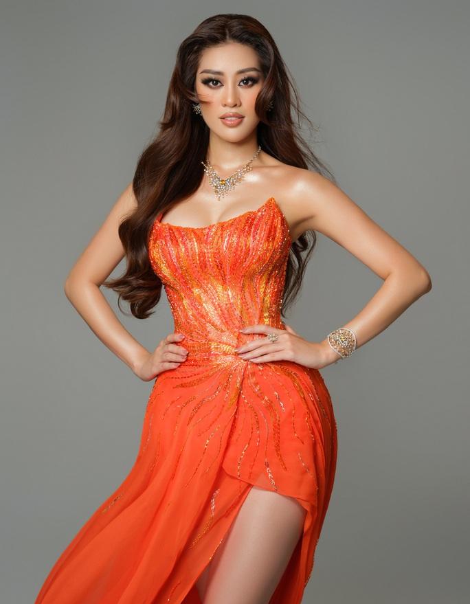 Ý nghĩa chiếc váy cam của hoa hậu Khánh Vân tại bán kết Hoa hậu Hoàn vũ 2020 - Ảnh 6.