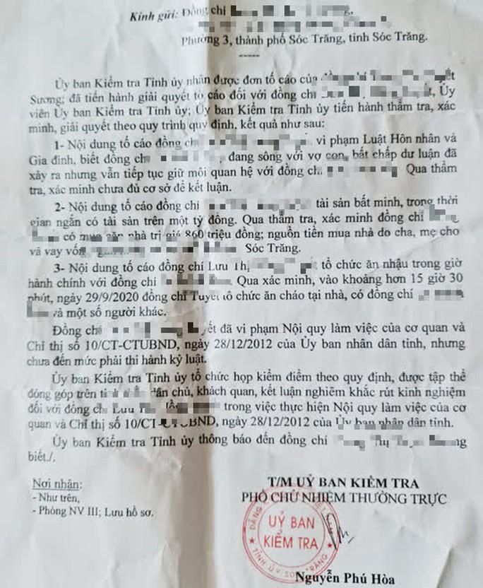 Bỏ cơ quan về ăn cháo gà cùng nguyên bí thư huyện, nữ cán bộ bị kiểm điểm - Ảnh 1.