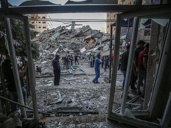 Israel không kích nhà thủ lĩnh Hamas - Ảnh 2.