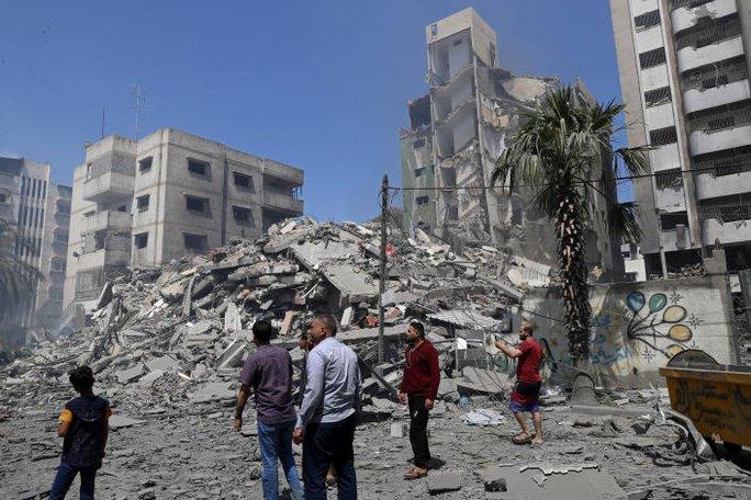 Israel gạt thỏa thuận ngừng bắn, không kích tổng lực Gaza - Ảnh 5.