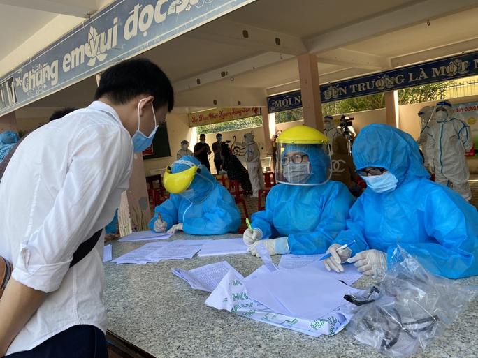 Đà Nẵng thêm 7 ca dương tính với SARS-CoV-2, có con gái người bán cơm gà - Ảnh 1.