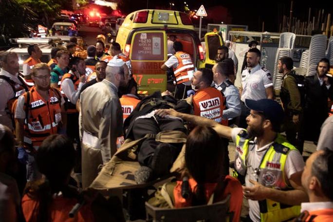 Israel: Sập khán đài giáo đường, gần 170 người thương vong - Ảnh 2.