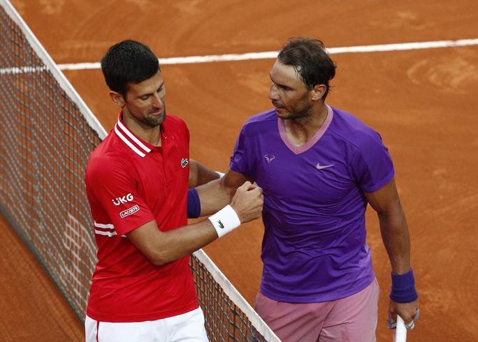 Nadal hạ Djokovic, đăng quang Rome Masters 2021 - Ảnh 4.