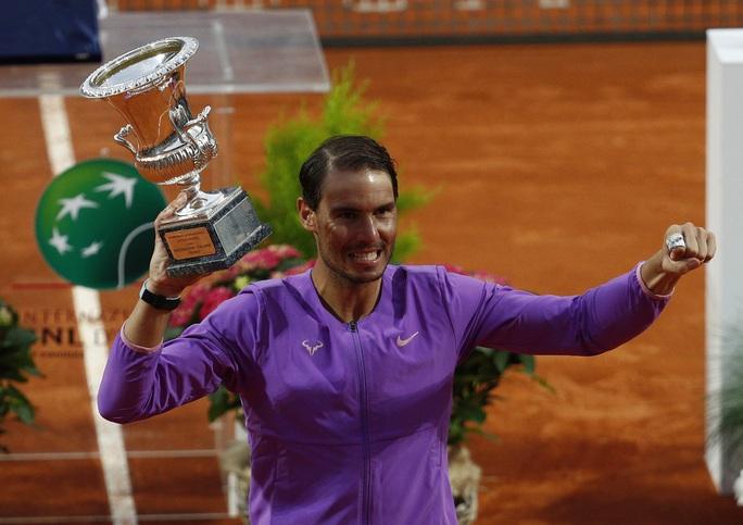 Nadal hạ Djokovic, đăng quang Rome Masters 2021 - Ảnh 8.