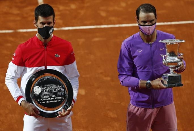 Nadal hạ Djokovic, đăng quang Rome Masters 2021 - Ảnh 5.