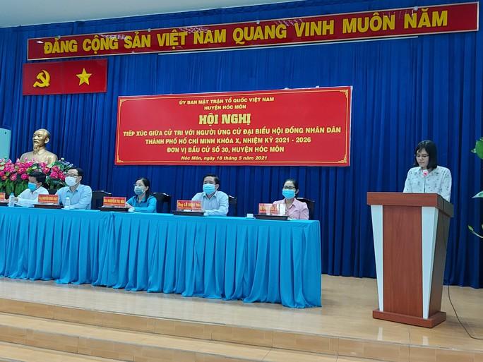 Cử tri mong mỏi huyện Hóc Môn sớm trở thành quận - Ảnh 1.