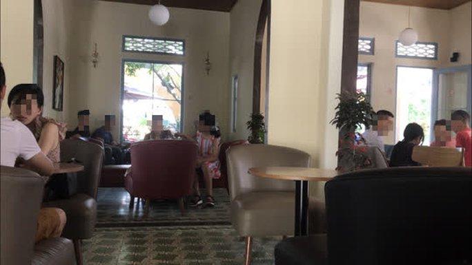 Mời chủ quán cà phê Sline ở Huế vi phạm phòng chống dịch Covid-19 tới làm việc - Ảnh 3.