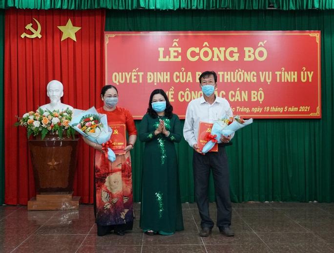 Phó Chủ tịch Thường trực LĐLĐ tỉnh Sóc Trăng nhận nhiệm vụ mới - Ảnh 1.