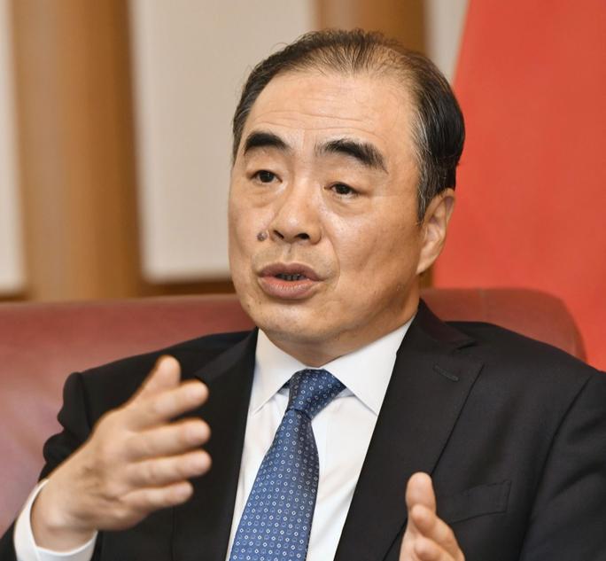 """Trung Quốc chê """"Bộ tứ, kêu gọi Nhật Bản củng cố quan hệ song phương - Ảnh 1."""