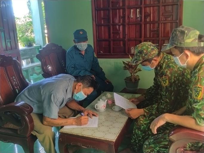 Biên phòng Phú Quốc phát động phong trào toàn dân tham gia phòng chống Covid-19 - Ảnh 4.