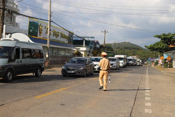 Dừng tất cả xe khách tuyến TP HCM - Lâm Đồng - Ảnh 1.