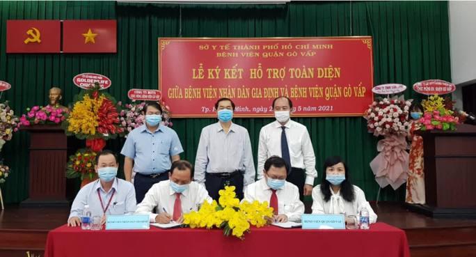 Bác sĩ Hồ Văn Hân được bổ nhiệm làm giám đốc Bệnh viện quận Gò Vấp - Ảnh 1.