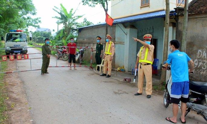 Công an điều tra ca dương tính SARS-CoV-2 đầu tiên ở Thái Nguyên - Ảnh 1.